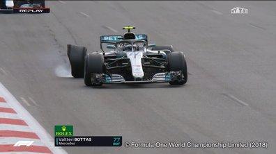 F1 - Grand Prix d'Azerbaïdjan : Bottas crève en tête à deux tours de la fin
