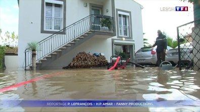 Bouches-du-Rhône : jusqu'à un mètre d'eau dans les maisons