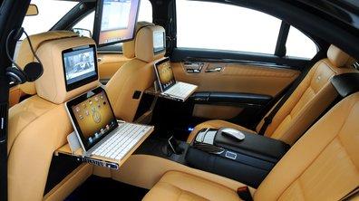 Une Mercedes Classe S à la sauce Apple préparée par Brabus
