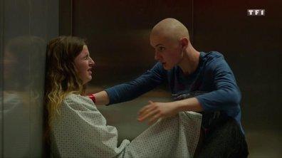 Coincé dans un ascenseur, Clément sauve la vie de Sarah (épisode 03)