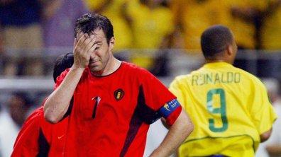 Brésil-Belgique : 2002, l'un des plus grands drames du football belge
