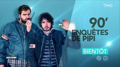 La brigade anti-pipi de Paris (Eric et Quentin)
