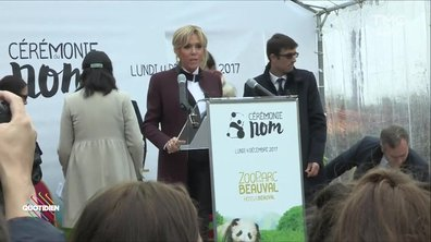 Alerte Info : Brigitte Macron baptise un panda...