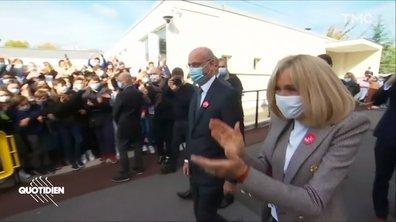 Brigitte Macron et Jean-Michel Blanquer dans un collège : trop parfait pour être vrai