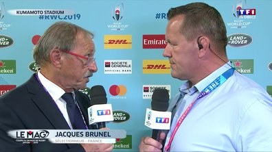 "XV de France - Brunel : ""On a souffert encore une fois"""