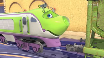 Chuggington - Bruno à la station de lavage