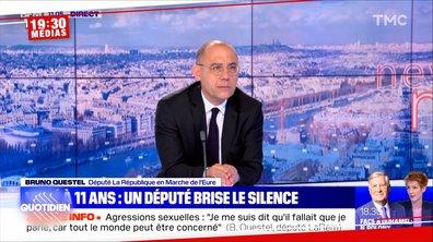 Bruno Questel, député LREM, raconte avoir été violé à l'âge de 11 ans