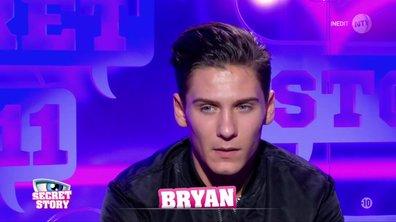 Secret Story 11 :  Bryan a pris sa décision, il quitte la Maison des Secrets