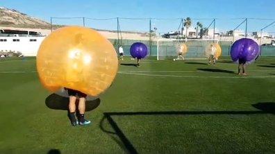 Lyon : Génésio se met au bubble foot