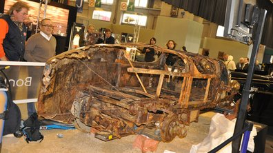 La Bugatti Brescia, 73 ans sous l'eau, vendue 260.500 euros !