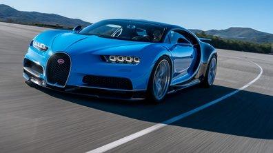 La Bugatti Chiron pourrait adopter une version hybride