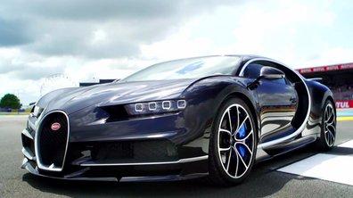 La Bugatti Chiron aux 24 Heures du Mans 2016