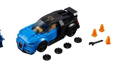 Lego Speed Champions 2017 : la Bugatti Chiron à l'honneur