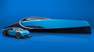 Insolite : Un Yacht Bugatti Chiron