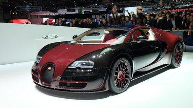 Salon de Genève 2015 : Bugatti Veyron La Finale, dernière d'une ère
