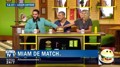 Attention, avalanche de vannes sur le plateau de Burger Quiz !