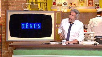 Les menus : Flashback, la vie en bleu ...