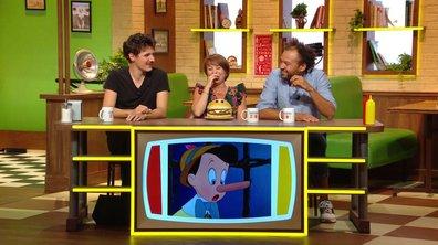 """""""Que se passe-t-il si Pinocchio dit : mon nez va grandir ?"""" C'est le menu !"""