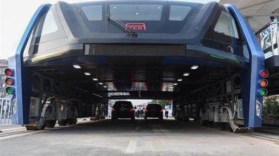 Chine : Le bus anti-bouchon a roulé pour la première fois