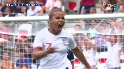 Angleterre - Ecosse (1 - 0) : Voir le but de Parris en vidéo