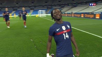 France - Ukraine (1 - 0) : Voir le but de Camavinga en vidéo