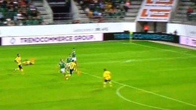 Vidéo insolite : Ce joueur marque un but exceptionnel en pleine lucarne contre son camp
