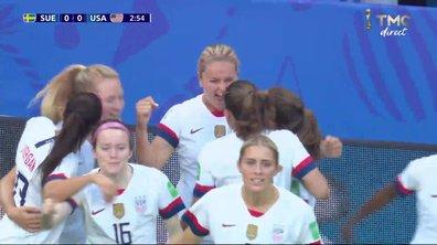Suède - USA (0 - 1) : Voir le but d'Horan en vidéo