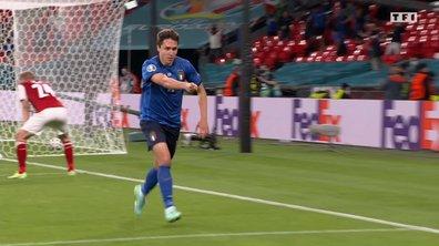 Italie - Autriche (1 - 0) : Voir le but de Chiesa en vidéo