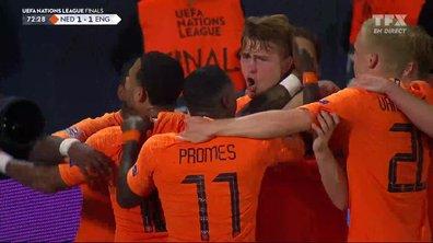 Pays-Bas - Angleterre (1 - 1) : Voir le but de De Ligt en vidéo