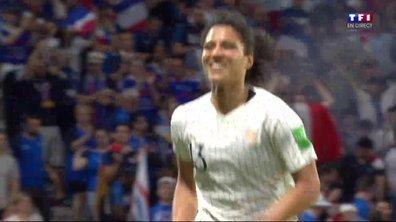 France - Brésil (1 - 0) : Voir le but de Gauvin en vidéo