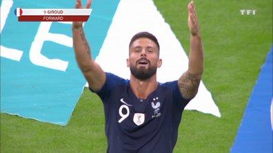 France - Albanie (2 - 0) : Voir le but de Giroud en vidéo