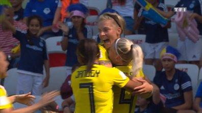 Suède - Thaïlande (4 - 0) : Voir le but de Hurtig en vidéo