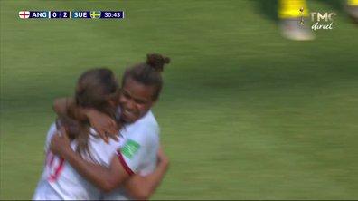 Angleterre - Suède (1 - 2) : Voir le but de Kirby en vidéo