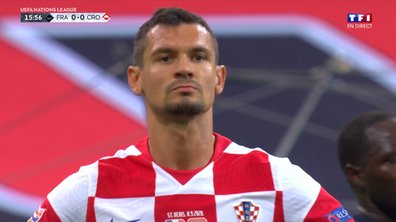 France - Croatie (0 - 1) : Voir le but de Lovren en vidéo