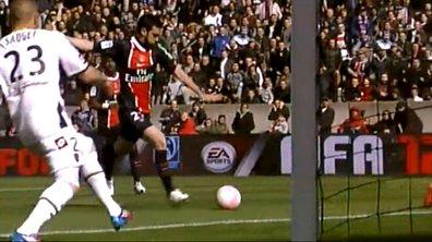 La vidéo du but de Pastore : PSG 6 - 1 Sochaux