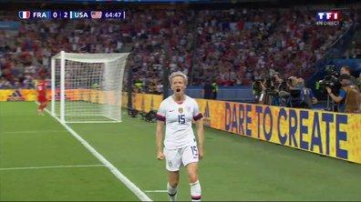 France - USA (0 - 2) : Voir le but de Rapinoe en vidéo