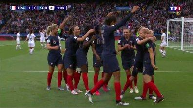 France - Corée du Sud (1 - 0) : Voir le but de Le Sommer en vidéo