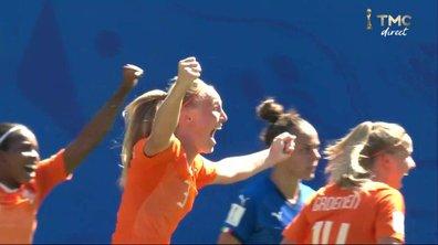 Italie - Pays-Bas (0 - 2) : Voir le but de Van der Gragt en vidéo