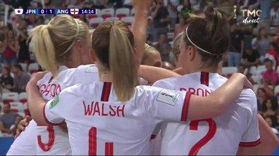 Japon - Angleterre (0 - 1) : Voir le but de White en vidéo