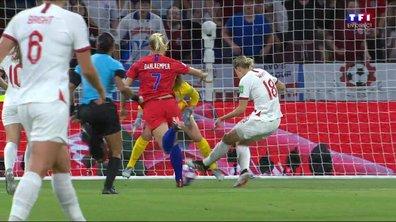 Angleterre - USA (1 - 2) : Voir le but refusé à White en vidéo