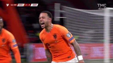Pays-Bas - Allemagne (2 - 2) : Voir le but de Depay en vidéo