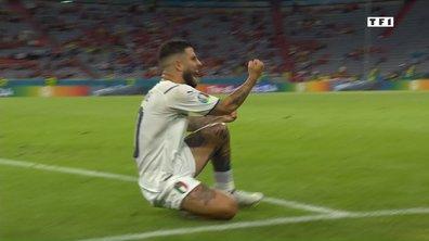 Belgique - Italie (0 - 2) : Voir le but d'Insigne en vidéo