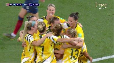 Norvège - Australie (1 - 1) : Voir le but de Kellond-Knight sur corner direct en vidéo