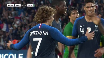 France - Bolivie (2 - 0) : Voir le but de Griezmann en vidéo