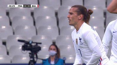 France - Bulgarie (1 - 0) : Voir le but de Griezmann en vidéo