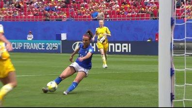 Australie - Italie (1-1) : Voir le but de Bonansea en vidéo