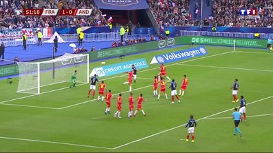 France - Andorre (2 - 0) : Voir le but de Lenglet en vidéo