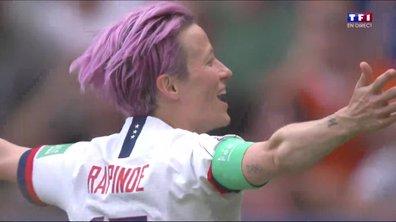 Etats-Unis - Pays-Bas : L'ouverture du score de Rapinoe en vidéo