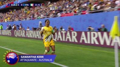Australie - Italie (1-0) : Voir le but de Kerr en vidéo