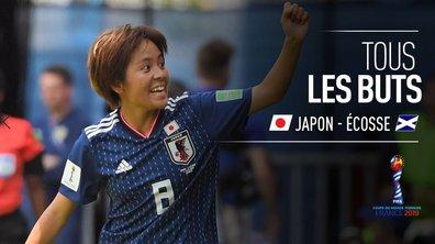 Japon - Ecosse : Voir tous les buts du match en vidéo